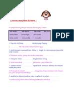 Latihan Simpulan Bahasa 1