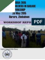 Gibhr Workshop Report