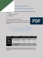Conocer Las Herramientas de Monitorización de La Memoria Ram