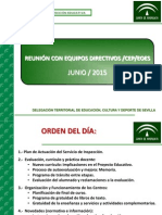Reunion Eq Dir - Junio 2015