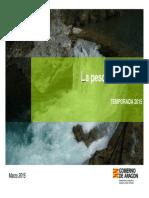 Aragón- Pesca 2015 Folleto