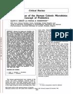 Prébioticos e Microbiota