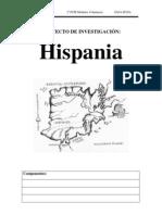 proyecto investigacion hispania