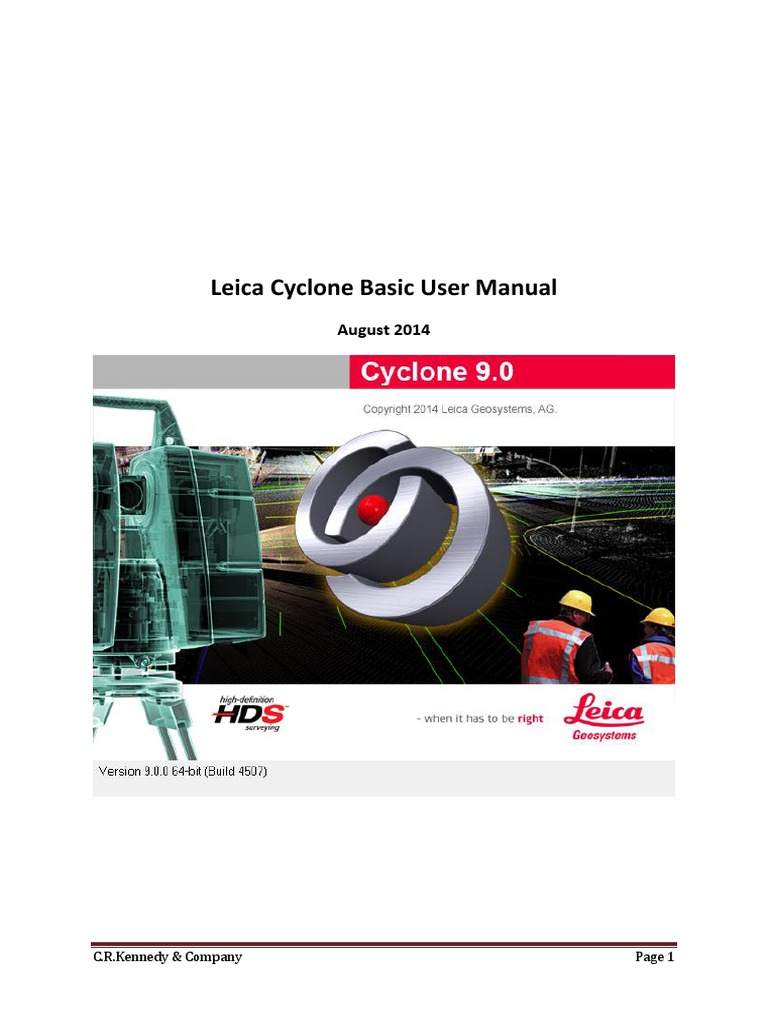 cyclone basic tutorial image scanner beam structure rh id scribd com Leica Cyclone Viewer Leica TruView