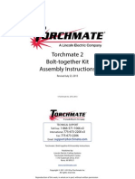 Torchmate 2 Bolt Together Assembly Instructions