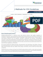 Using Statistical Methods for ICH Guidelines