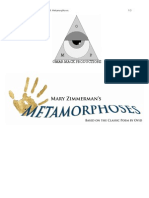 SAMPLE Metamorphoses Production Pitch