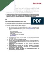 SIDBI NASSCOM Financing Initiative FAQs