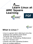 Learn Linux at AMC Square Learning
