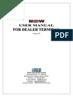 NOW-User Manual for Dealer Terminal