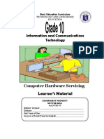 TLE-ICT-Computer Hardware Servicing Grade 10 LM