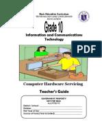 TLE-ICT-Computer Hardware Servicing Grade 10 TG