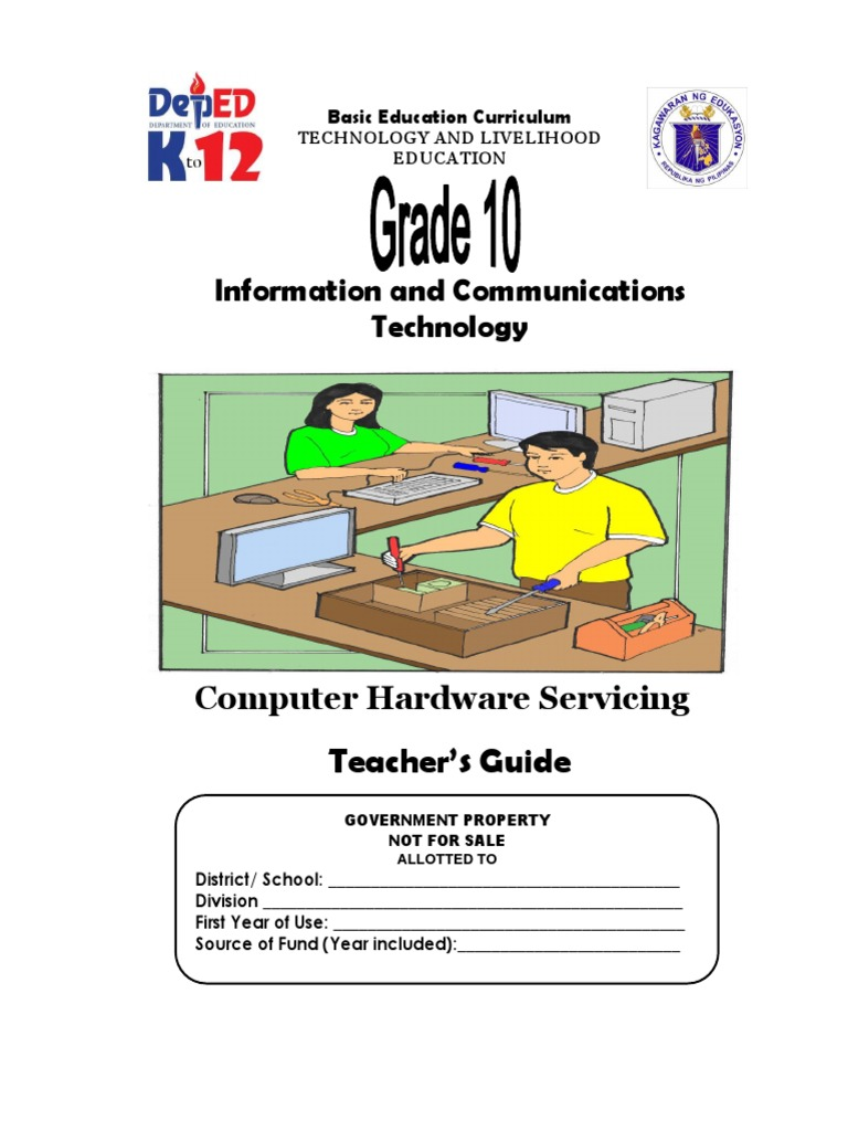 Tle ict computer hardware servicing grade 10 tg entrepreneurship computer network