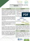 Poster Entrepreneurship Education