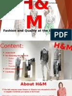 H&M in engleza