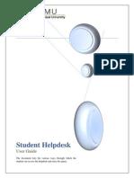 Helpdesk - Student User Guide