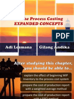 The Process Costing