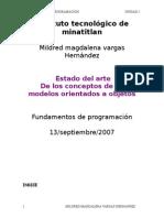 Estado DEl Arte Mildred Unidad 1