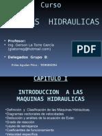 Maquinas Hidraulicas CAP I