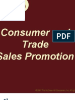 Consumer and Trade Sales Promotion
