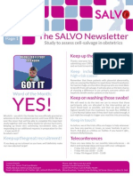 SALVO Newsletter June 15