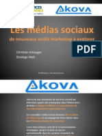 Atelier Akova Christian Amauger Medias Sociaux