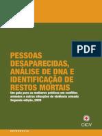 Pessoas desaparecidas, análise de DNA e identificação de restos mortais