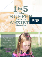 Spence Children Anxiety Scale (Scas)