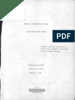 Manual DE POTABILIZACION DE AGUAS