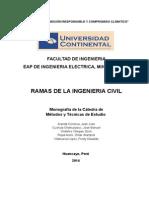 Ramas de La Ingenieria Civil