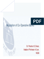 Regulation of Co-operative Banks in India