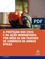 A proteção dos civis e da ação humanitária por meio de um Tratado de Comércio de Armas eficaz