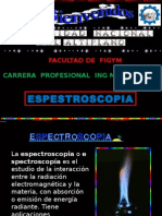 diapositivas de espectroscopia