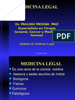 MEDICINA LEGAL Introduccion