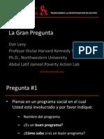 IMPACTO DE LOS PROYECTOS SOCIALES