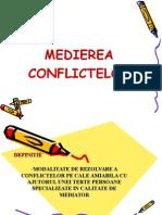 Medierea Conflictelor Curs Slide Ultimul Update