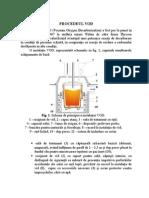 Cuptor cu oxidare si dezoxidare(Procedeul VOD)