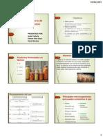 Alteración microbiana de alimentos fermentados