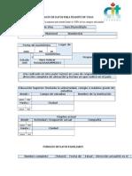 Formato de Datos Para Tramite de Visas (1)