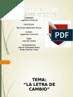 Letra de Cambio-diapos