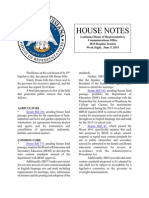 2015 House Notes Week 8