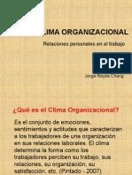 CLIMA ORGANIZADA