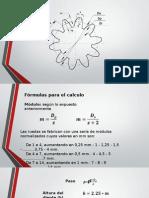 Parametros de Un Engrane