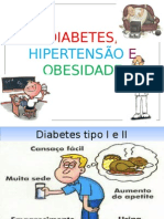 Palestra Diabetes Hipertensao e Obesidade