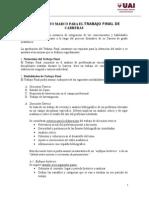 Reglamento Marco Trabajo Final Para Carreras de Grado Definitivo 13-03-15