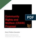 Craw Proposal