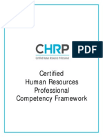 CHRP Competency Framework2