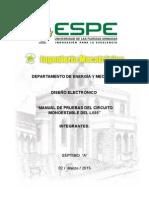 Manual de Pruebas Del 555