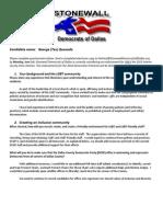 Quesada County Chair Questionnaire