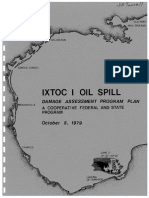 Ixtoc-I Oil Spill Damage Assessment Program-1979